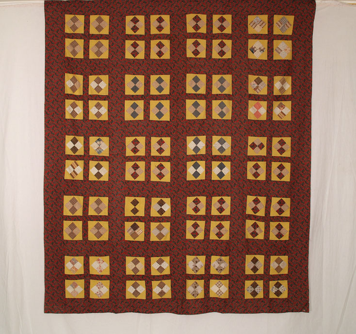 QT324 Diamond in a Square Four Patch