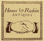 Logo for Hanes and Ruskin Antiques
